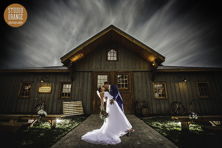 Sample wedding image from an article about how to hire a professional wedding photographer.